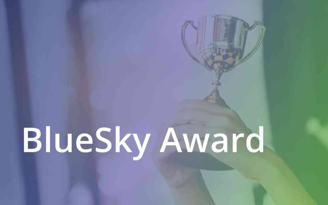 BlueSky Receives 2018 Values Driven Award of Excellence